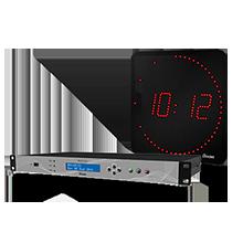 Netsilon reloj LED CNOM Bodet
