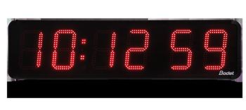 Reloj LED exterior HMS