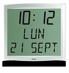 Reloj LCD Cristalys Date