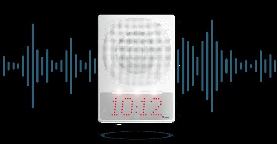 Transmitir las recomendaciones de las medidas preventivas a través de un sistema de audio.