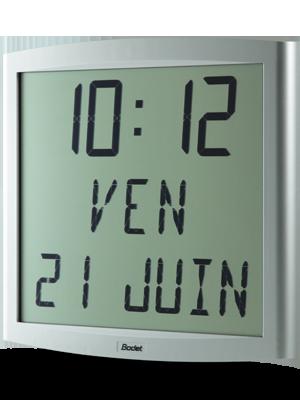 Horloge LCD Cristalys Date