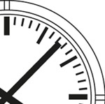 Reloj analógico Profil trazos esfera