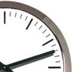 Horloge-analogique-Profil-couleur-metal