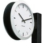 Horloge-analogique-Profil-support-double