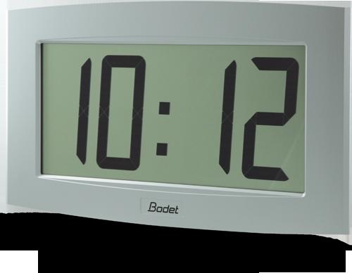 bodet time gamme horloge digitale lcd intérieur cristalys 14