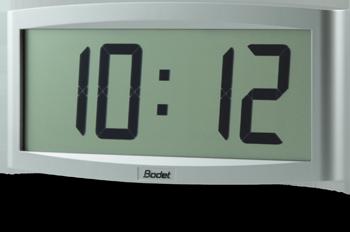 bodet time horloge digitale lcd cristalys 7. Black Bedroom Furniture Sets. Home Design Ideas
