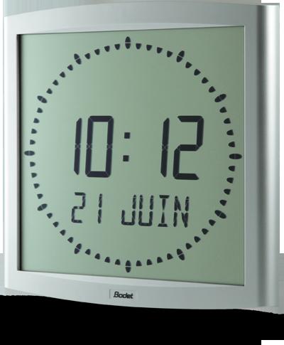 Bodet Time - Horloge digitale LCD Cristalys 7