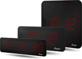 bodet time horloge digitale led. Black Bedroom Furniture Sets. Home Design Ideas