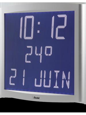 Horloge LCD Opalys Date