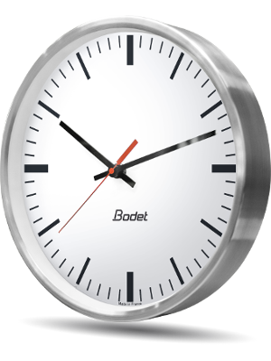 Horloges analogiques métalliques Profil