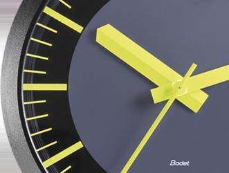 design horloge analogique profil TGV