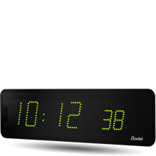 Bodet Time - Horloges digitales LED pour intérieur et extérieur