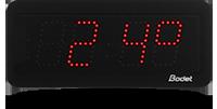 horloge digitale style 7 temperature