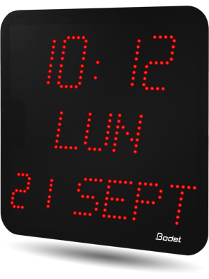 Bodet Time Horlogerie Industrielle Horloge
