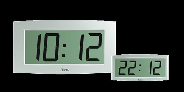 L'horloge Cristalys 14 permet une lecture optimale par sa grande taille