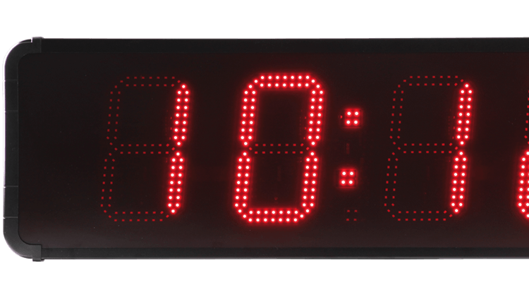 La HMT LED 45, une horloge de grande taille