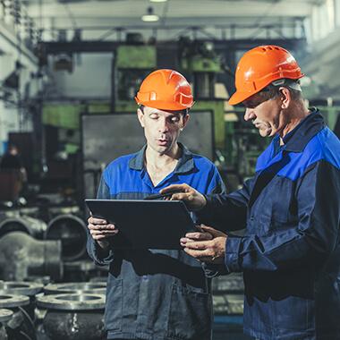 L'horloge Profil 740 est adaptée au secteur industriel