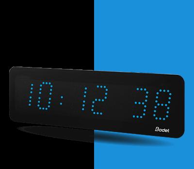 Horloge-LED-Style-5-s