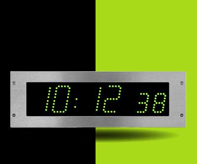 Horloge-LED-Style-7s-hopital