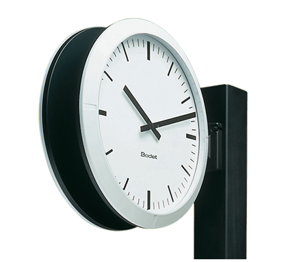 Profil 960 double-sided clock