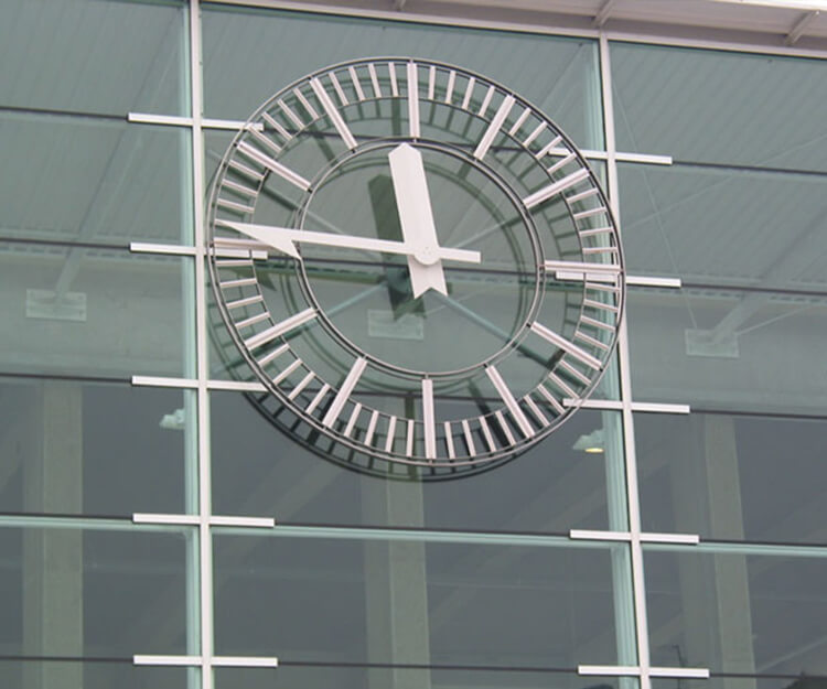 Angers station clock