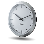 silent analogue clock profil