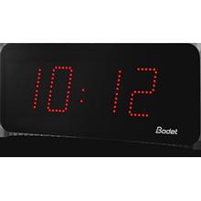 horloge led style 10 rouge bodet