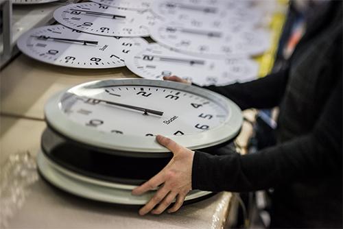 Fabrication d'une Horloge Bodet