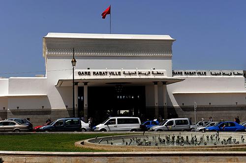 Entrée de la Gare de Rabat Ville - Maroc