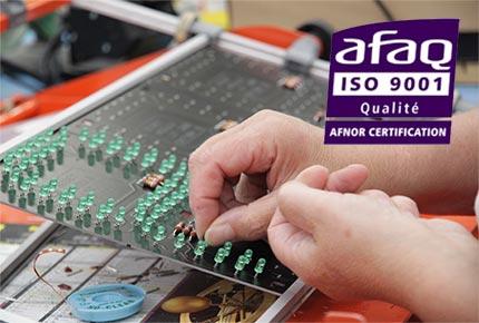 certification iso 9001 bodet