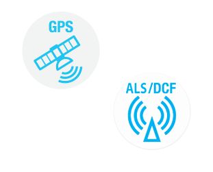 GPS antenna and radio antenna - Bodet