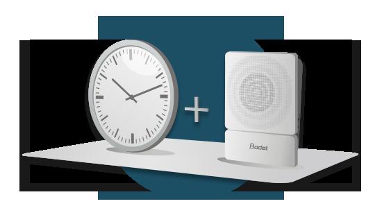 Uhrzeit und Audio